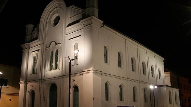 Synagoga v Břeclavi.