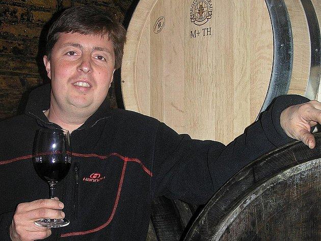 Vinař Roman Beneš.