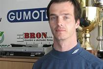 Tomáš Vlček, hrotový útočník třetiligového celku fotbalistů MSK Břeclav.