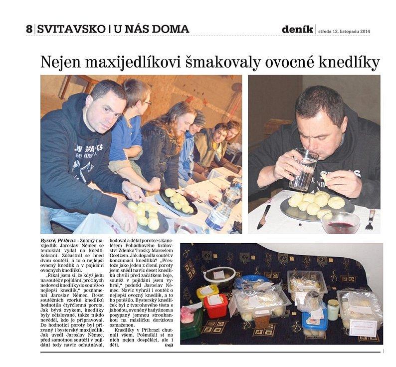 Ochutnejte úžasné jahodové knedlíky od Maijedlíka