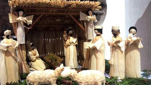 Římskokatolická farnost v Mikulově připravila výstavu betlémů.