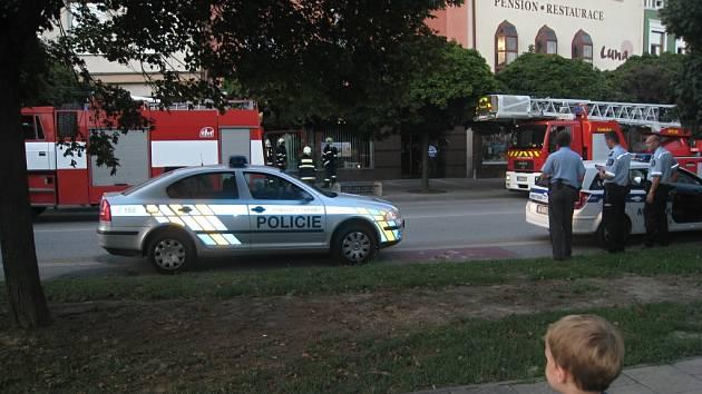 Mladíka, který včera večer vnikl do jedné z břeclavských firem zadržela policie.