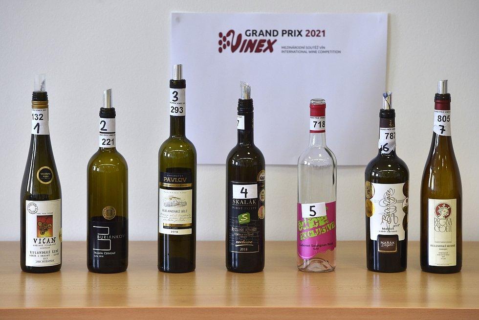 Šampionem mezinárodní soutěže vín Grand Prix Vinex se stal Merlot ze žádovickéhovinařství Štěpán Maňák.