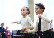 V Břeclavi se v sobotu konala soutěž Břeclavská romance. Uspěl i taneční pár z Břeclavi.