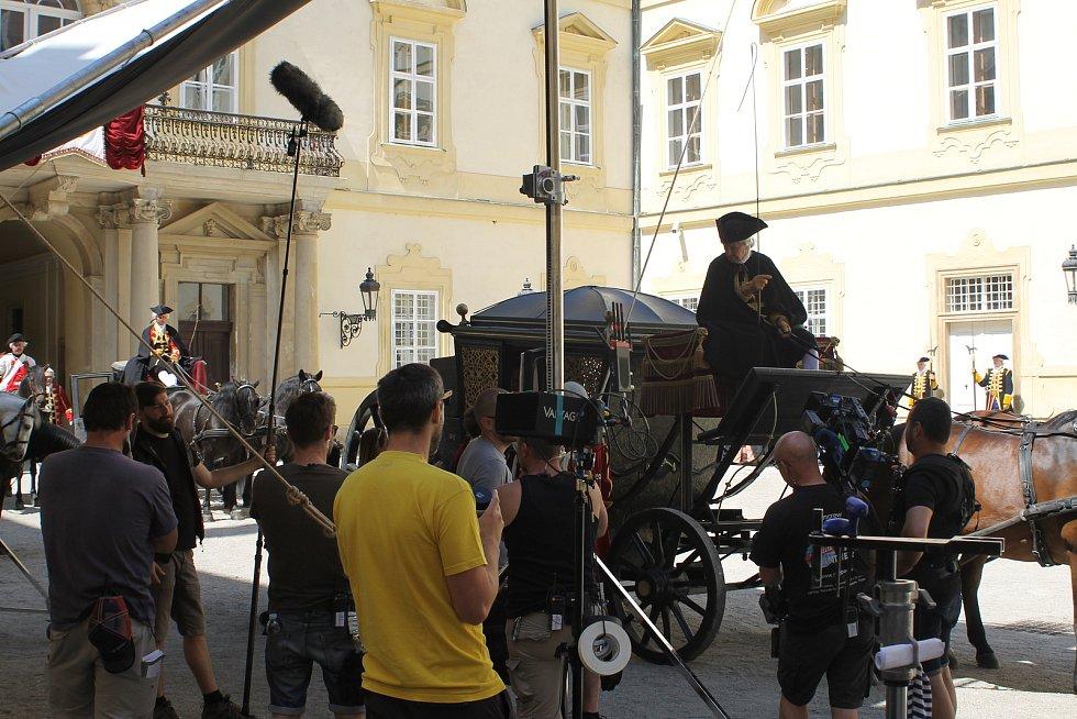 Natáčení minisérie Marie Terezie ve Valticích