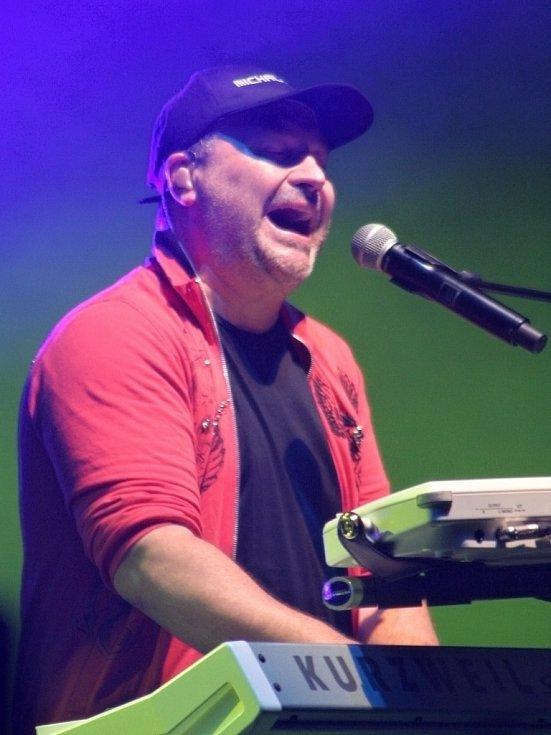 Koncert Michala Davida v Břeclavi.