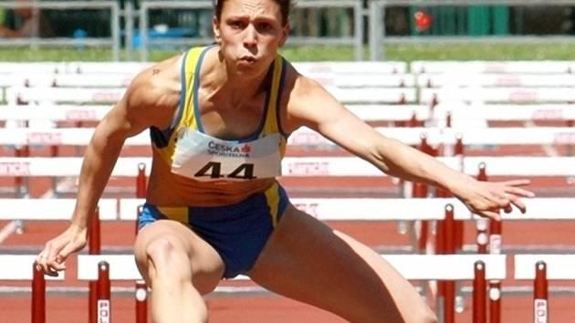 Břeclavská atletka Markéta Malariková.