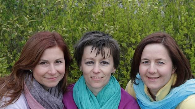 Nové Centrum volného času 4All založily ve Valticích (zleva) Petra Piharová, Vendula Balgová a Broňa Čechmánková.