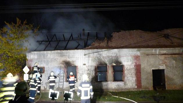 Tragický požár v Jevišovce.