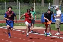 Atletický stadion břeclavské Lokomotivy hostil okresní přebory v atletice pro žáky a dorostence.