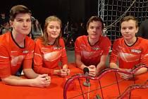 Družstvo složené z žáků devátých tříd velkopavlovické základní školy uspělo hned třikrát v populární soutěži České televize Bludiště.