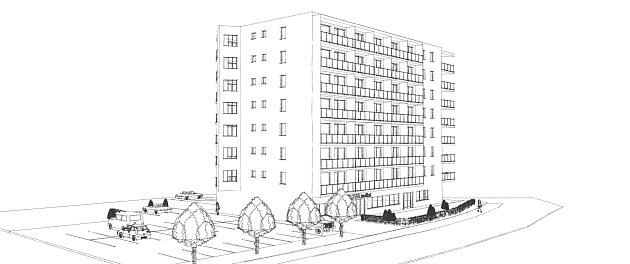 Před pár lety dostavěný bytový areál ubřeclavské nemocnice se rozšíří odalší dům. Už třetí. Postaví ho znovu společnost spojená sbřeclavským podnikatelem Antonínem Nešporem. Kromě bytů mají vpřízemí vzniknout lékařské ordinace.