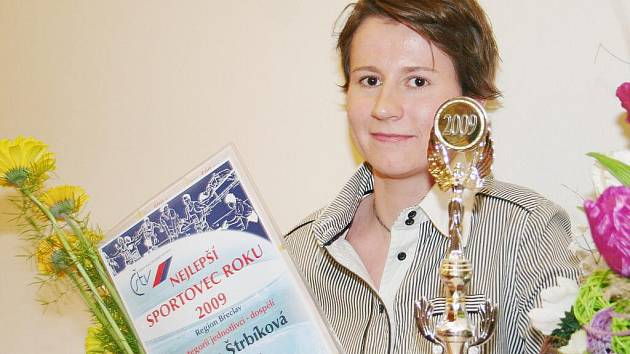 Sportovec roku okresu Břeclav 2009 - Renáta Štrbíková