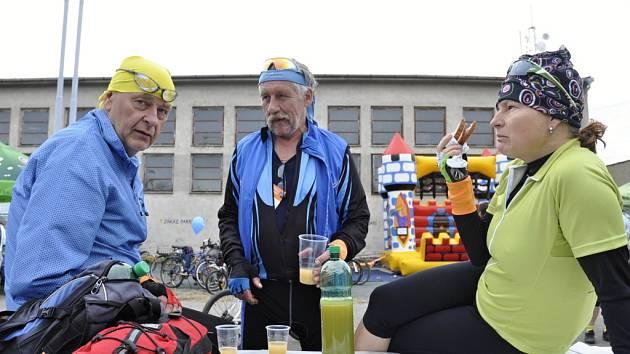 Loučení s cyklistickou sezonou ve Vranovicích.