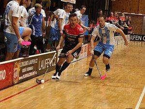 Florbalisté TJ Znojmo LAUFEN CZ podlehli v pátém kole Tipsport Superligy mužstvu České Lípy 2:5