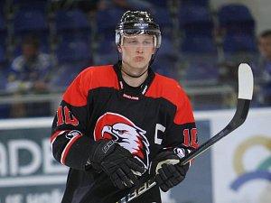 Hokejista David Bartoš.