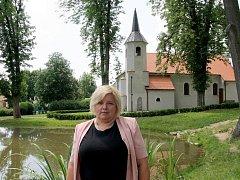 Starostka Miroslavských Knínic Renata Ryšavá.