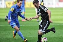 Utkání 21. kola druhé fotbalové ligy (Fortuna národní liga - FNL): MFK Vítkovice vs. 1.SC Znojmo FK, 8. dubna v Ostravě.
