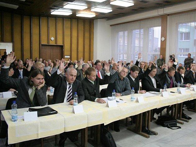 Zasedání zastupitelstva města Znojma. Ilustrační foto