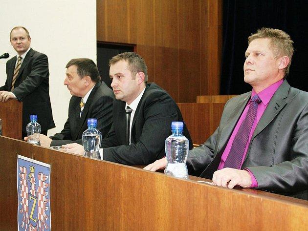 První zasedání zastupitelstva města Znojma.