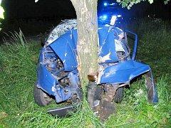 Smrtelná nehoda u Milíčovic