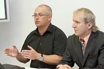 Petr Kofroň (vlevo) uspěl se svým odvoláním proti rozhodnutí antimonopolního úřadu.