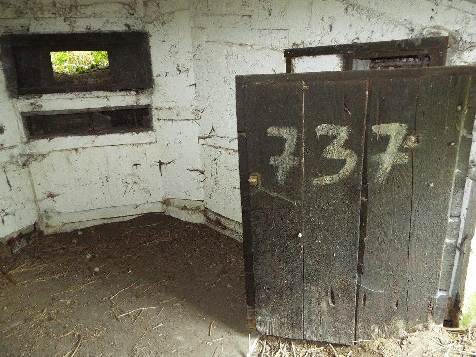 Řopík číslo 737 najdou lidé jihovýchodně od středu Mikulova při výjezdu z ulice Valtická směrem na Sedlec v bezprostřední blízkosti silnice číslo I/40 vlevo.