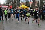 Více než 250 sportovců vyběhlo na den po Štědrém večeru na trať 39. ročníku znojemského Vánočního běhu Elektrokovu.