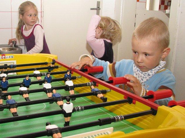 Děti v mateřské školce. Ilustrační foto.