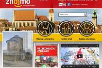 Webové stránky města Znojmo. Ilustrační foto.