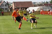 Fotbalisté IE Znojmo remizovali s FC Čebín.