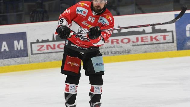 Bývalý hokejista znojemských Orlů Jan Lattner hraje už rok za tým Innsbrucku.