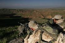 Pozorovací stanoviště během patroly