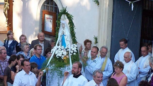 Tradiční mariánská pouť v Hlubokých Mašůvkách