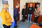 Úspěšným studentům pogratuloval také ředitel školy Leoš Gretz.