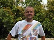 Pavel Urbánek, řečený Hurvajs, vede hokejový fan club už dvacet let.