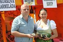 Prestižní světové ocenění Great Taste Awards ve formě tří hvězdiček si odneslo želé z ledového vína Rulandské modré. Uvařili je Zuzana a Otto Boudovi ze Znojma.