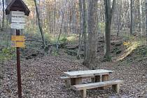 Nové odpočinkové místo je i u Andělského mlýna nedaleko Mašovic.