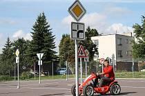 Dopravní hřiště v ulici Jindřicha Hořejšího ve Znojmě.