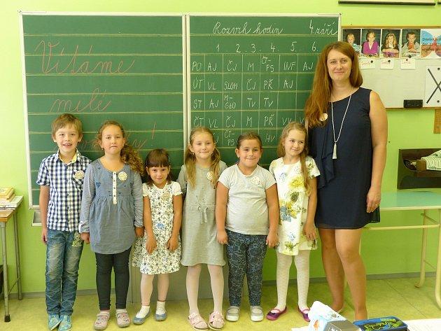 VCitonicích učí první třídu paní učitelka Marcela Popelková.
