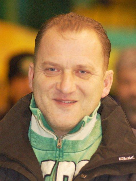 Asistent trenéra Znojemských orlů Václav Baďouček