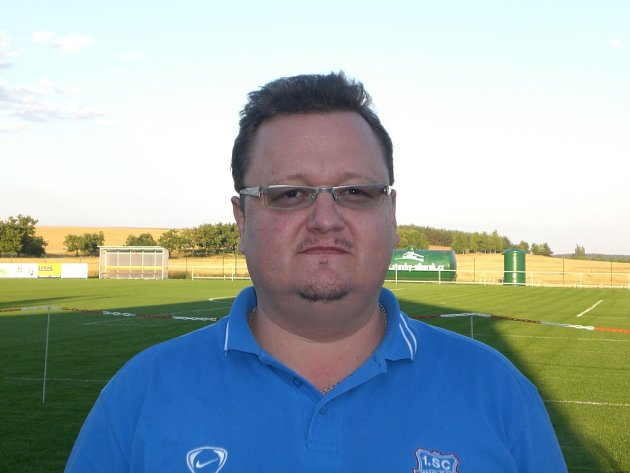 Technický manažer klubu 1. SC Znojmo Karel Hodák.