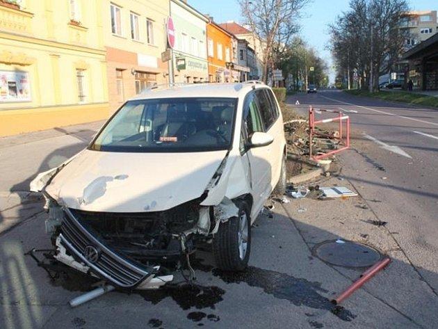 Za nehodu ve Znojmě zřejmě mohl mikrospánek.