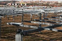 V Oblekovicích u Znojma roste elektrárna bez územního rozhodnutí