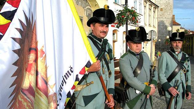 Trojice ostrostřelců, Ladislav Mucha uprostřed