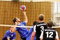 V sedmém a osmém kole druhé volejbalové ligy porazili znojemští volejbalisté tým z Hradce Králové, Malšovice, 3:0 a 3:1.