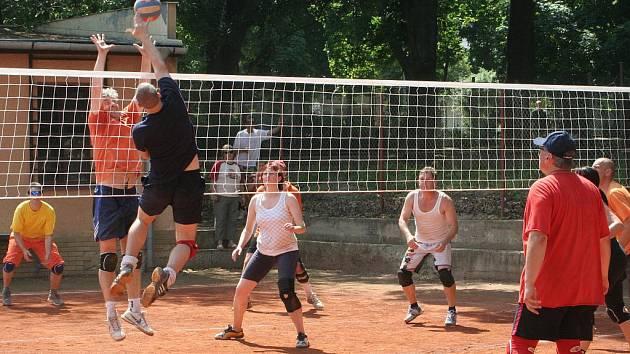 Volejbalový turnaj O pohár Města Znojma. Ilustrační fotografie.