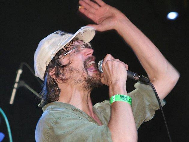 Wake Up 2010: zpěvák Daniel Bárta - ilustrační foto.
