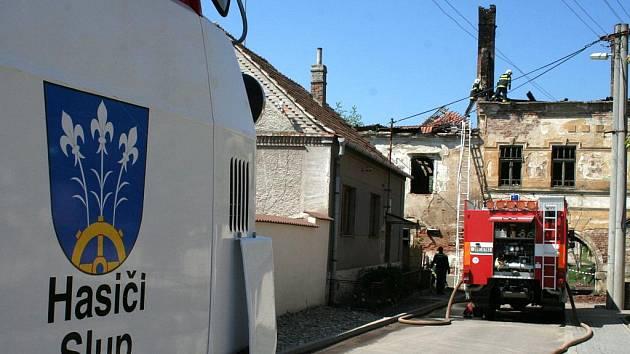 SDH Slup - demolice domu