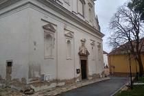 Kostel sv. Michala ve Znojmě.